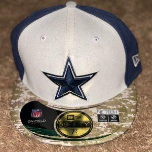 Dallas Cowboys Army Cap 7 1/4